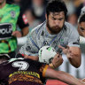 Defiant Broncos defence repels Warriors to make it three straight