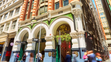 The ornate Tomasetti House in Flinders Lane, Melbourne is beingbrought to market.