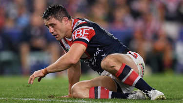 Cronk sustaining his heavy injury in the preliminary final victory over South Sydney.