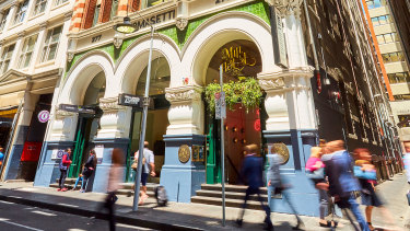 The ornate Tomasetti House on Flinders Lane has been acquired by Justine Hemmes.