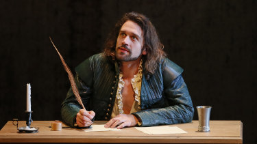 Yearning intensity: Michael Wahr as Shakespeare.