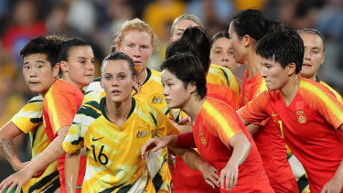 Matildas and China locked in gripping stalemate.