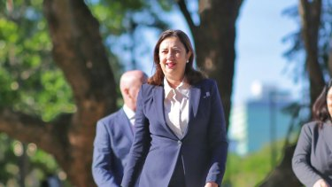 Queensland Premier Annastacia Palaszczuk has urged Queenslanders to pack up the car for a road trip if they can.
