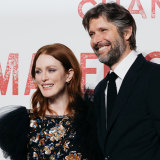 Julianne Moore and Bart Freundlich:  ''Emotionally, I don't know; she somehow has a different process,'' he says.