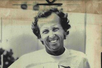 Bob Brett at the 1984 US Open.