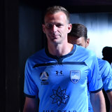 Sydney FC skipper Alex Wilkinson is hopeful the only way is up for the A-League.