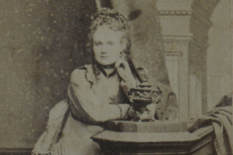 Caroline Hodgson, aka Madame Brussels.