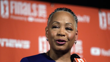 Lisa Borders resigned from Time's Up after a sexual assault allegation was made against her son.