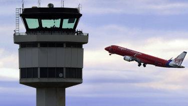 Passenger numbers between Melbourne and Sydney have fallen.