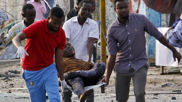 Somali bombers kill dozens in hotel for government officials