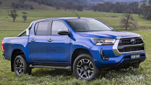 The Toyota HiLux was the top-selling vehicle in Australia last year.