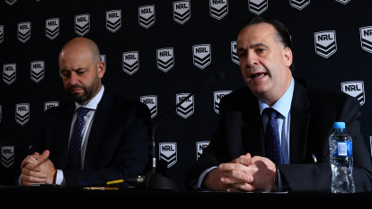 Broken and almost broke: How did it come to this for the NRL?