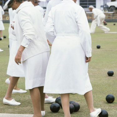 They might be full of pensioners and tea cosy-knitting  marmalade-makers, but the way Nambour conveyancing lawyer Geoff Brown tells it, the average bowls club is a pit of vipers.