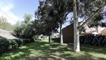 Eddy Court Reserve was part of the area being considered for the affordable housing development.