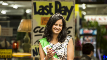 Last year's Miss Eastwood Divya Ahlawat said it was disappointing that Labor boycotted the pageant.