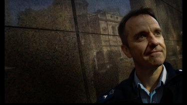 Former Victoria Police commander Dean Stevenson.
