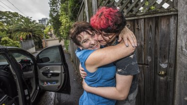 Rita Savanah finished hotel quarantine on Christmas Day and was reunited with her 21-year-old son Séan.