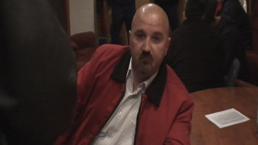 "Hells Angels bikie Zeljko ""Steve"" Mitrovic, who was killed in January at his Wetherill Park transport business."