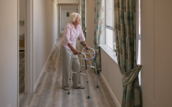 It is inevitably women who end up caring for elderly relatives.