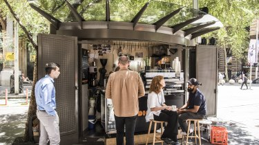 Businesses like cafe Diggy Doos, which operates from a JCDecaux kiosk, will be forced to move.