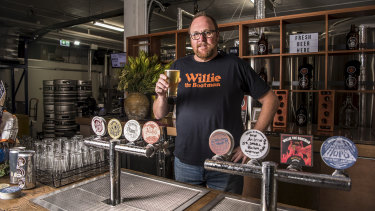 Patrick McInerney from Willie the Boatman Brewery says people need to question where their favourite beers come from.