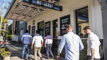 The Bellevue Hotel in Paddington has proposed renovations to facilitate smoking in its gaming area.