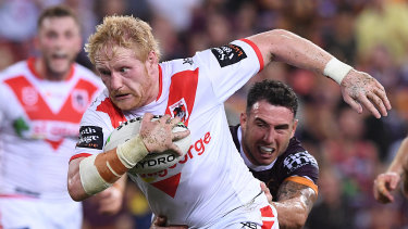 James Graham says the Dragons must move on from their disappointment about Jack de Belin.