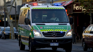 The man was taken to RPH on priority,