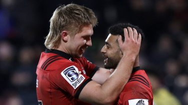 Incumbents: Crusaders Jack Goodhue and Richie Mo'unga are both likely to be named in the All Blacks squad, and poised to make further short-lists.