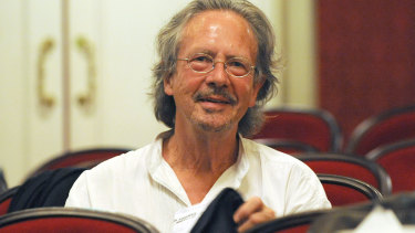 Peter Handke pictured in 2009