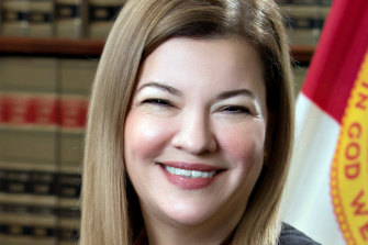 Barbara Lagoa, from Florida, is on Donald Trump's shortlist for the US Supreme Court.