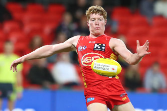 Outstanding Gold Coast prospect Matt Rowell played in the NAB League last year.