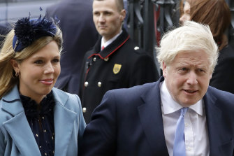 Carrie Symonds worked on Boris Johnson's successful reelection campaign for Lord Mayor of London in 2012 when she was in his communications team.