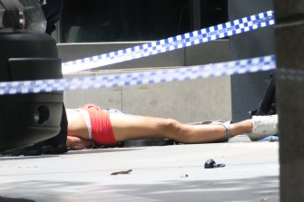 Gargasoulas was shot after he'd ploughed into the crowds on Bourke Street.