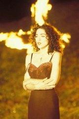 "Scene from Madonna's ""Like a Prayer"" video, 1989"
