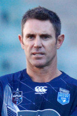 Decision time: NSW coach Brad Fittler.