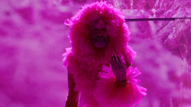 In the pink: Glory