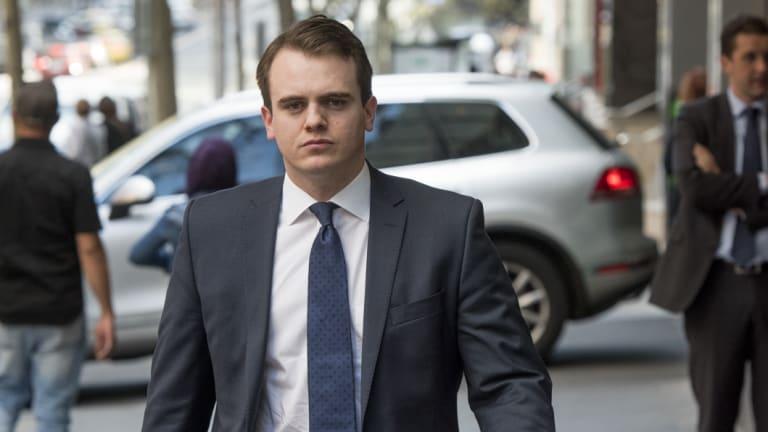 Rising Liberal Party star Marcus Bastiaan.