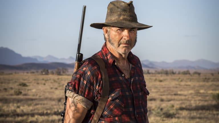John Jarratt as Mick Taylor in the film Wolf Creek 2.
