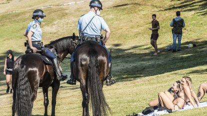 'Treat the virus like a criminal': Police Commissioner defends COVID-19 enforcement