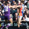 From the Archives, 2000: Freo pip the Eagles in 'demolition derby'