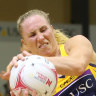 Vixens crash Langman's netball milestone