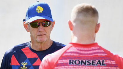 Axe hanging over Bennett after Great Britain's tour whitewash