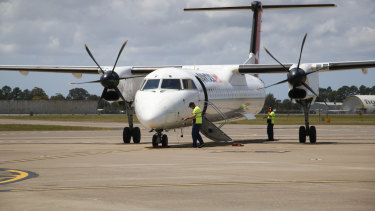 Regional Queensland is facing a Covid test after a flight attendant flew on several flights while infectious.