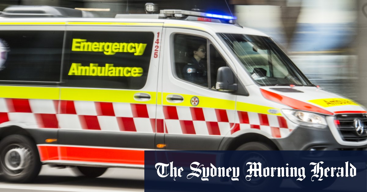 Two taken to hospital after separate serious crashes in Sutherland Shire – Sydney Morning Herald