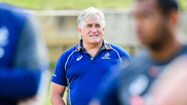 Australian director of rugby Scott Johnson is quickly putting his stamp on the sport.