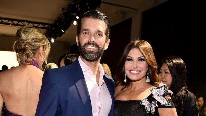 Trump jnr's girlfriend, top fundraising official, COVID positive
