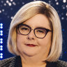 Facing off with Magda Szubanski 'like being kneed in the groin by Bluey'