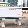 City of Perth, Basil Zempilas targeted by guerrilla artists over 'anti-homeless' measures