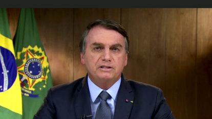 Bolsonaro tells the world: Brazil is victim of 'brutal misinformation'
